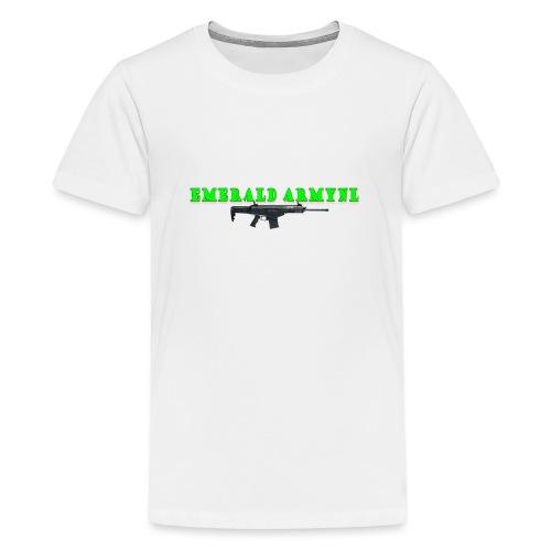 EMERALDARMYNL LETTERS! - Teenager Premium T-shirt