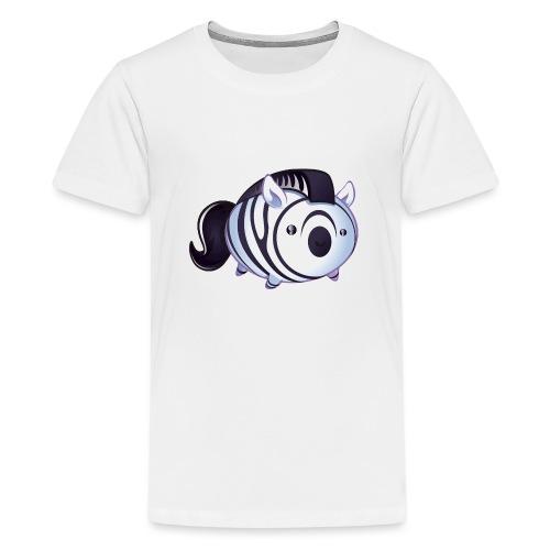zèbre kawaii - T-shirt Premium Ado