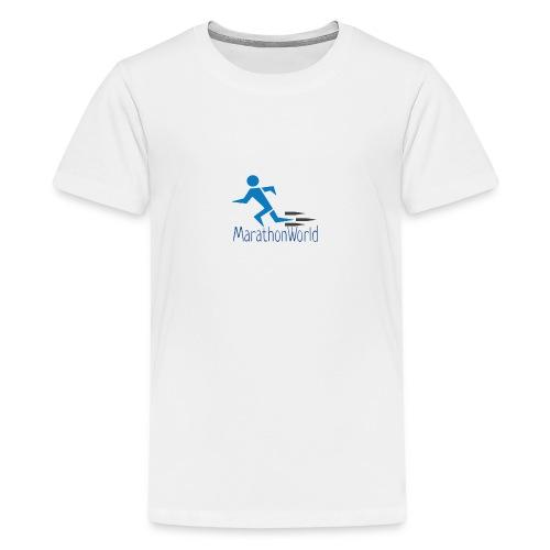 MarathonWorld - Maglietta Premium per ragazzi