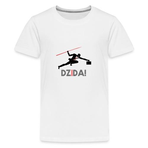 Dzida_wzor_czarny - Koszulka młodzieżowa Premium
