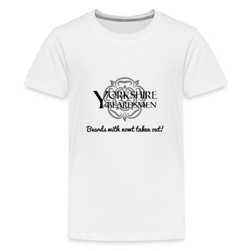 beardsnowt png - Teenage Premium T-Shirt
