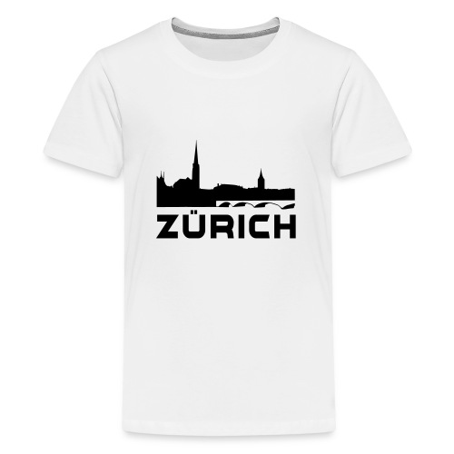 Zürich - Teenager Premium T-Shirt