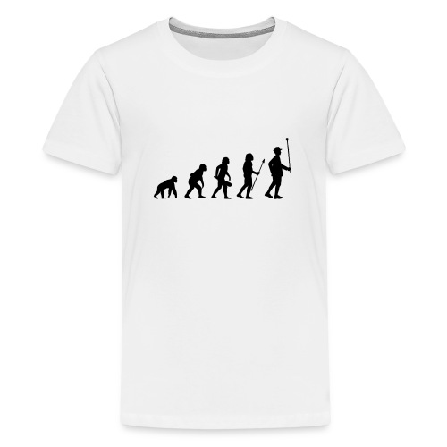 Stabführer Evolution - Teenager Premium T-Shirt