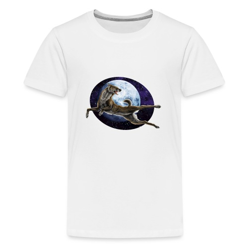 Galaxy Wolf - Teenager Premium T-Shirt