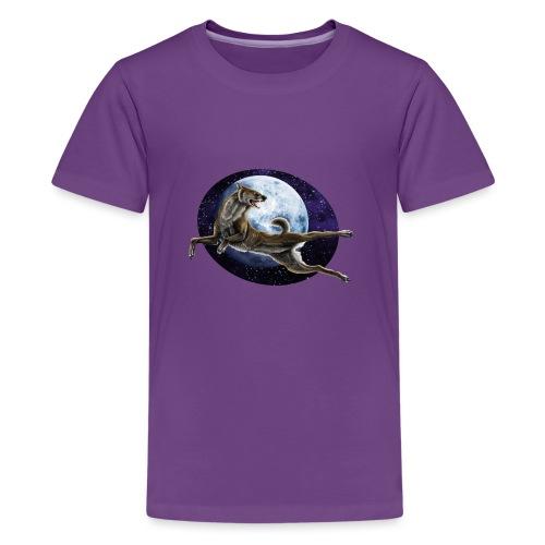 Galaxy Wolf - Teenager Premium T-Shirt