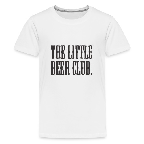 The Little Beer Club. Grey T Shirt - Teenage Premium T-Shirt