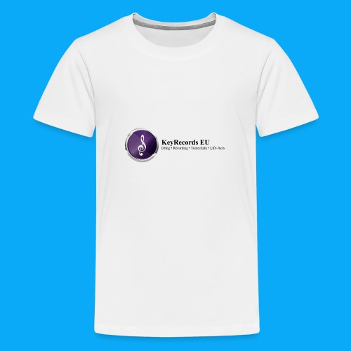 Logo KeyRecords EU - Teenager Premium T-Shirt