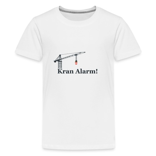Kran Alarm - Teenager premium T-shirt