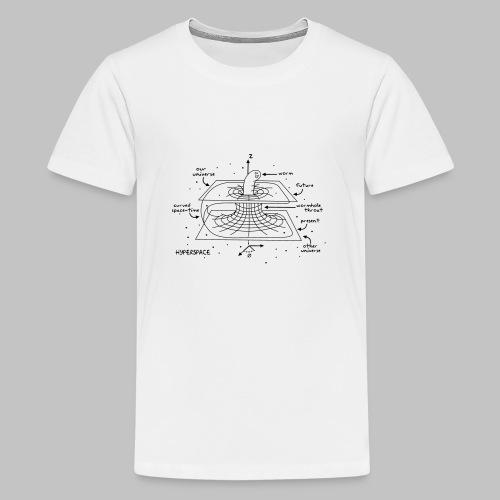 Wormhole - Teenage Premium T-Shirt