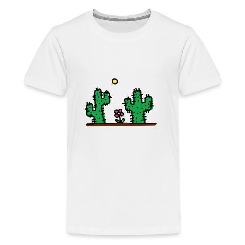 Cactus - Maglietta Premium per ragazzi