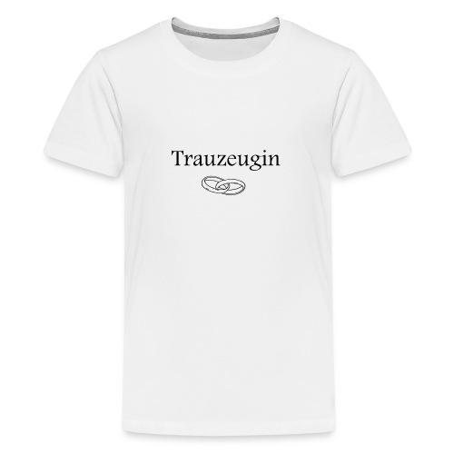 Treuzeugin - Teenager Premium T-Shirt