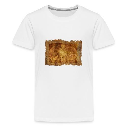 map of the world 2241469 1920 - Teenager Premium T-Shirt