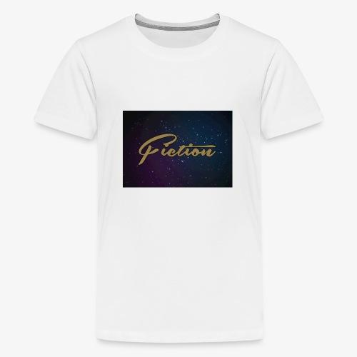 Fiction long sleeve space top - Teenage Premium T-Shirt