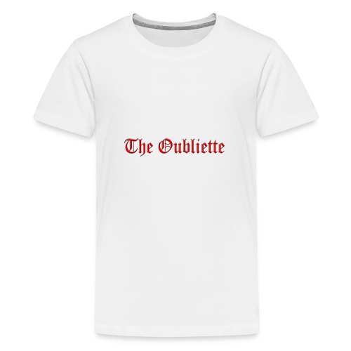 The Oubliette Apron - Teenage Premium T-Shirt