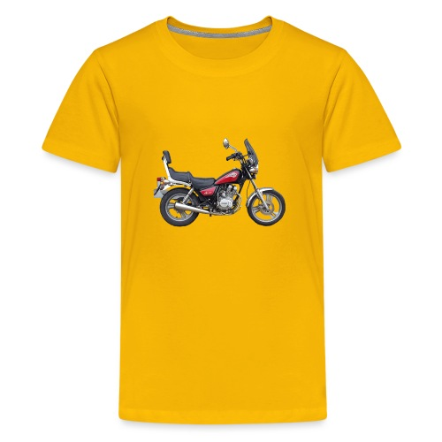 snm daelim vc 125 f advace seite rechts ohne - Teenager Premium T-Shirt