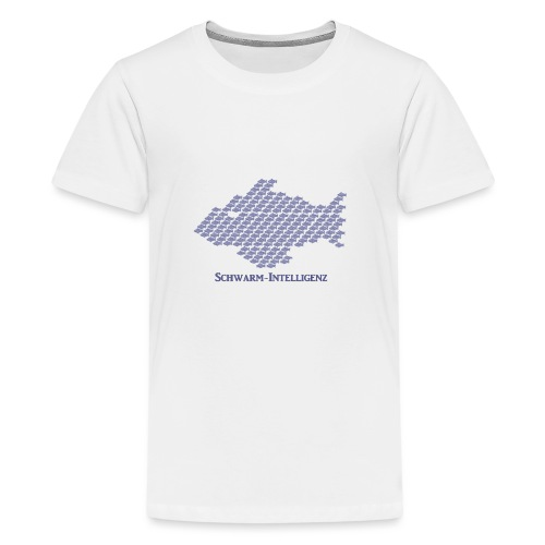 Schwarmintelligenz (Premium Shirt) - Teenager Premium T-Shirt