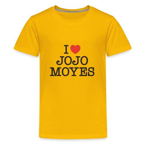 I LOVE JOJO MOYES - Teenager premium T-shirt