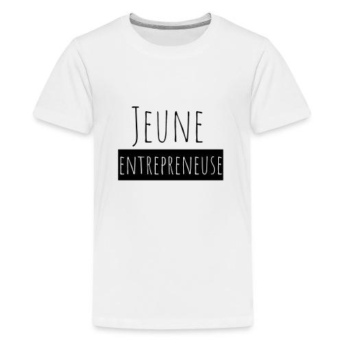 Jeune Entrepreneuse - T-shirt Premium Ado