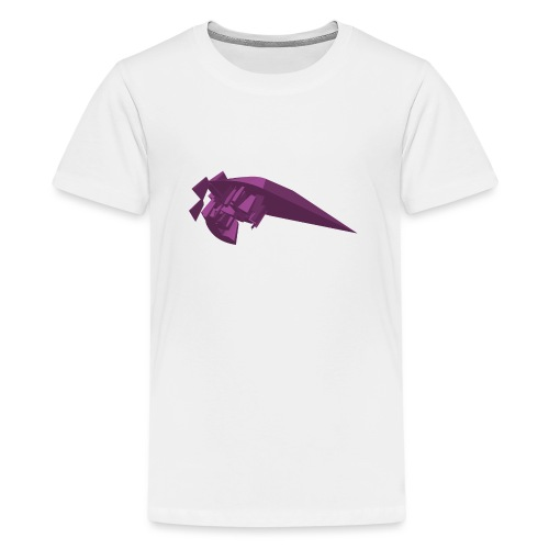 Purple vector - Teenage Premium T-Shirt