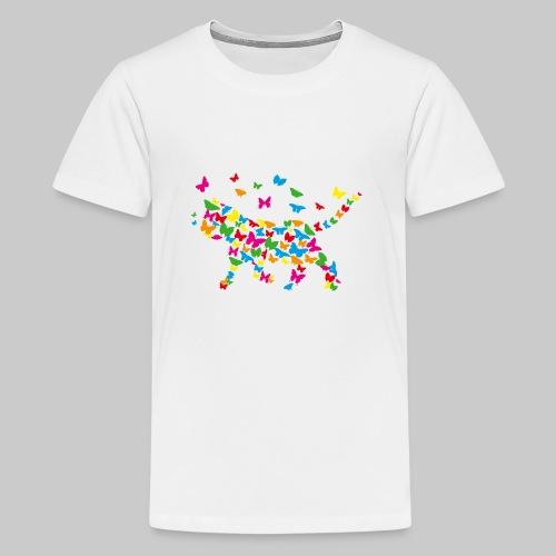 chat-papillon - T-shirt Premium Ado