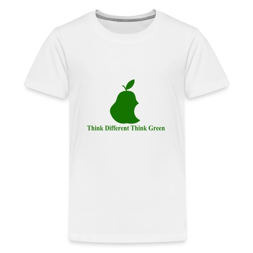 Think different, think green II - T-shirt Premium Ado