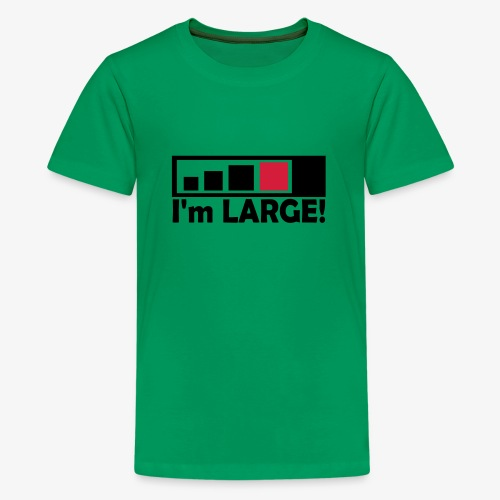 large_geocacher - Teenager Premium T-Shirt