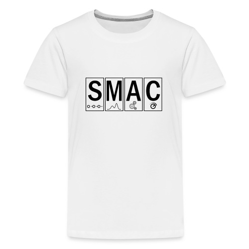 SMAC3_large - Teenage Premium T-Shirt