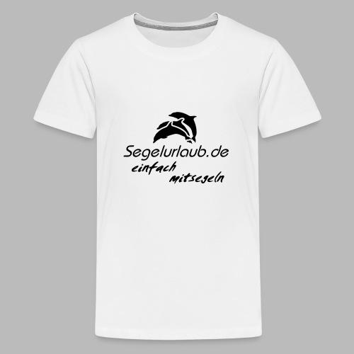 einfach mitsegeln io - Teenager Premium T-Shirt