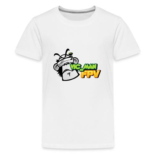 vic_man fpv oficial - Camiseta premium adolescente