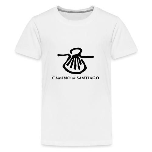 Camino de Santiago - Teenager premium T-shirt
