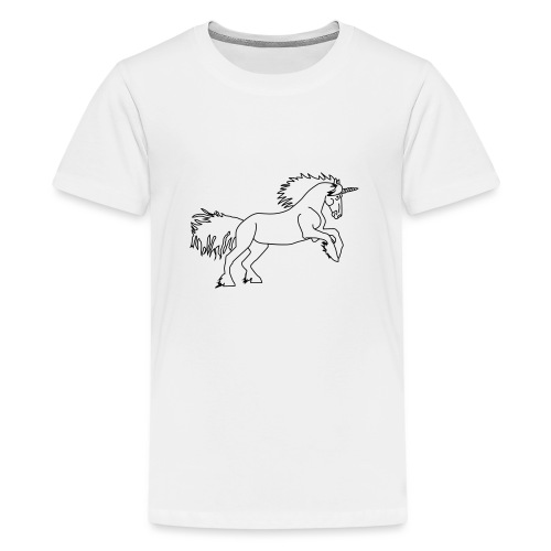 DAS Einhorn - Teenager Premium T-Shirt
