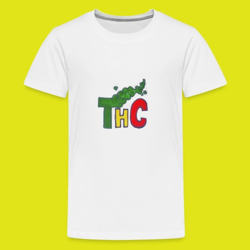 THC logo one - Maglietta Premium per ragazzi