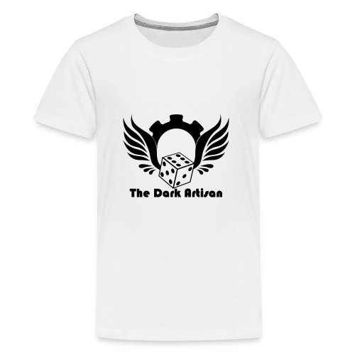 Black logo - Teenage Premium T-Shirt