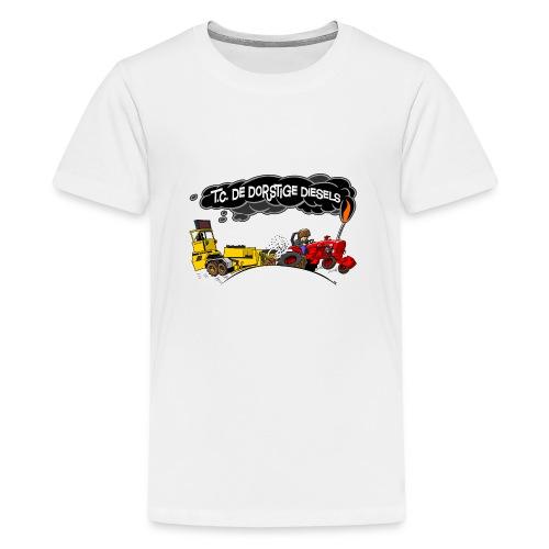 tc de dorstige diesels ACHTERKANT - Teenager Premium T-shirt