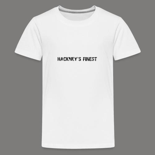 Main Titleblack png - Teenage Premium T-Shirt
