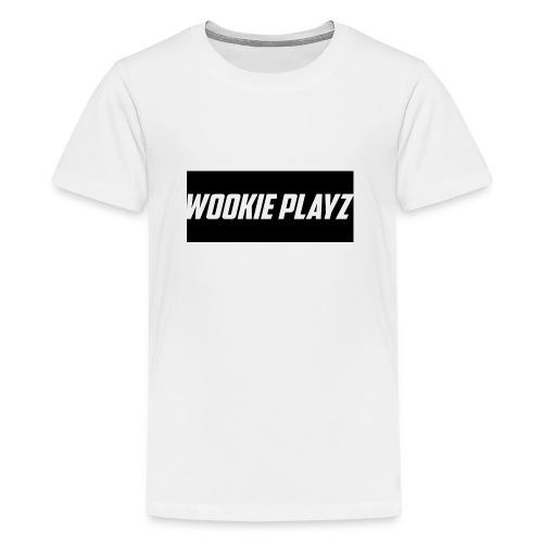 WOOKIE PLAYz HOODIE - Teenage Premium T-Shirt