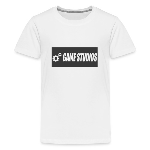 game studio logo - Teenage Premium T-Shirt