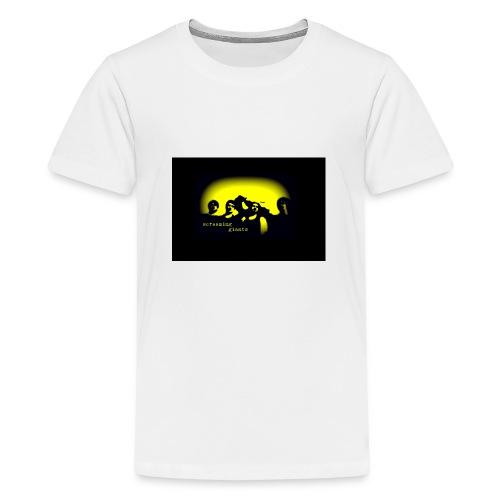 logoBlackBackground - Teenage Premium T-Shirt