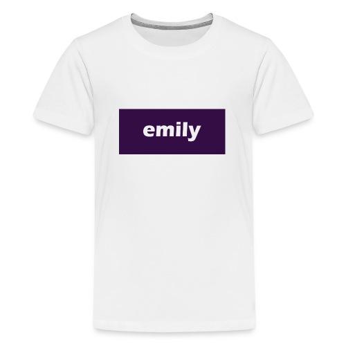 Emily - Teenage Premium T-Shirt