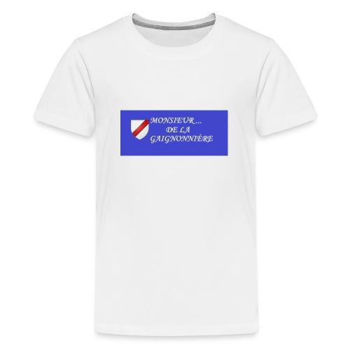 Du Reau_de_La_Gaignonnier - T-shirt Premium Ado