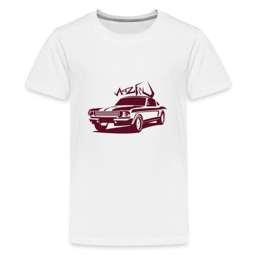 american_car__art2feu - T-shirt Premium Ado