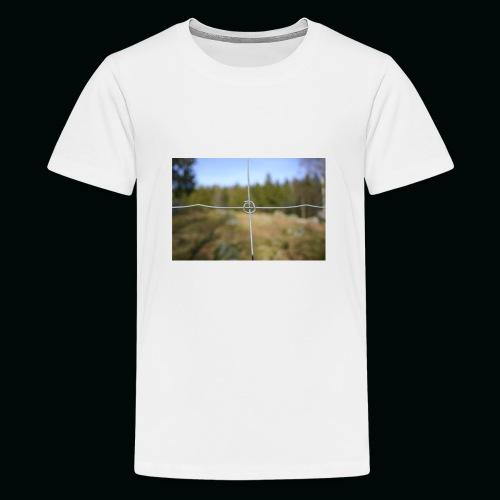 Stängsel - Premium-T-shirt tonåring
