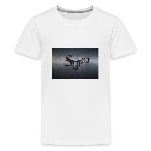 Skyloop Records mit BG - Teenager Premium T-Shirt