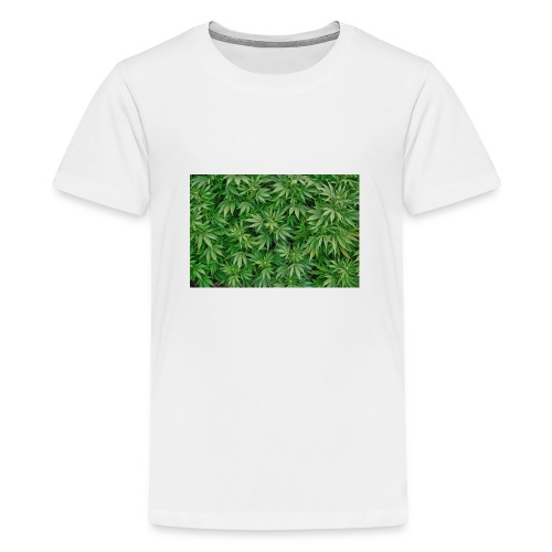 cannabis jpg - Teenager Premium T-Shirt