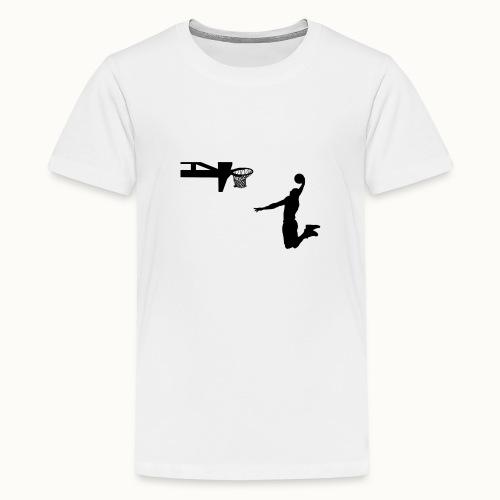 Dunking - Teenager Premium T-Shirt