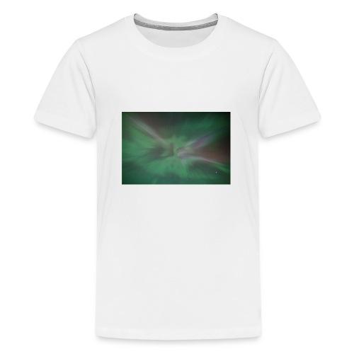 Aurora Borealis - Teenage Premium T-Shirt
