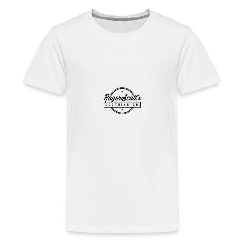 rogers copy png - Premium T-skjorte for tenåringer