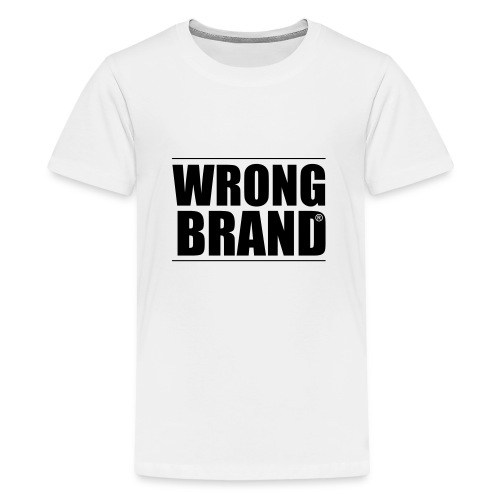 Wrong Brand: the ultimate brand parody - Teenage Premium T-Shirt