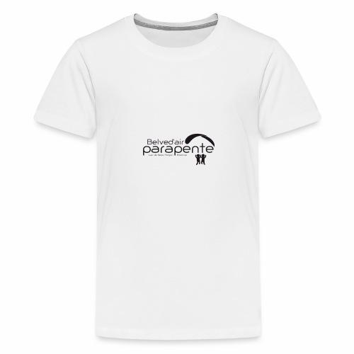 logo belvedair noir 01 - T-shirt Premium Ado