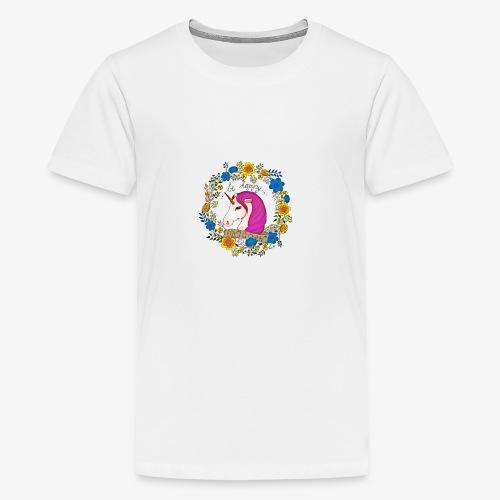 Be happy... Unicorn ! - T-shirt Premium Ado